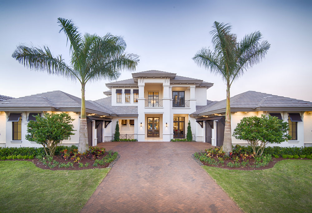 The Antigua by DIVCO Custom Homes at Miromar Lakes Beach & Golf Club