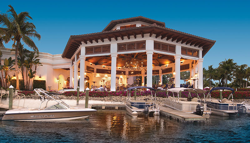 Waterfront Dining at Miromar Lakes Beach & Golf Club