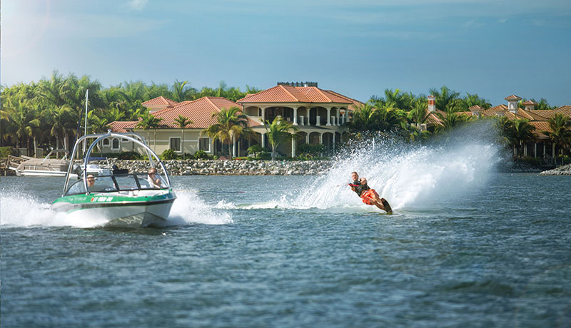 Water Skiing at Miromar Lakes Beach & Golf Club