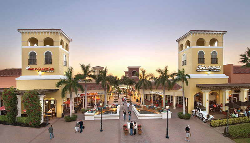 Naples Flatbread and Ford's Garage at Miromar Outlets