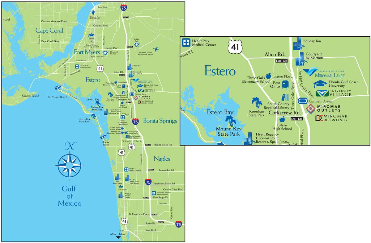 University-Village-Map