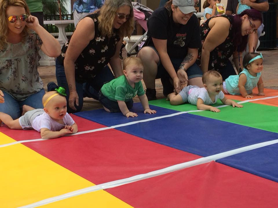 BABIES CRAWL TO THE FINISH DURING MIROMAR OUTLETS' 10TH