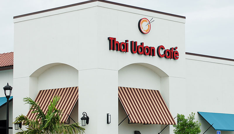 Thai Udon Cafe Now Open at University Village Shops in Fort Myers, FL