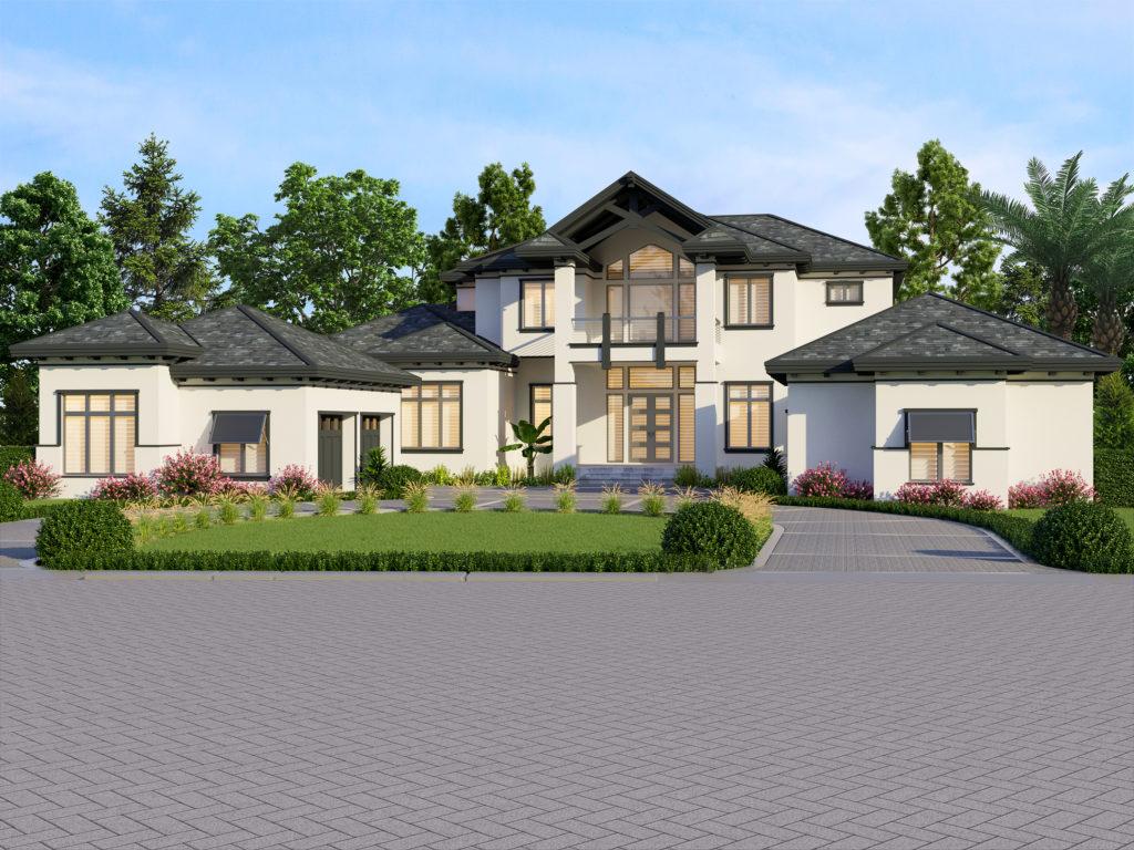 Fox-St.-Lucia-Grand-Estate-Home-rendering